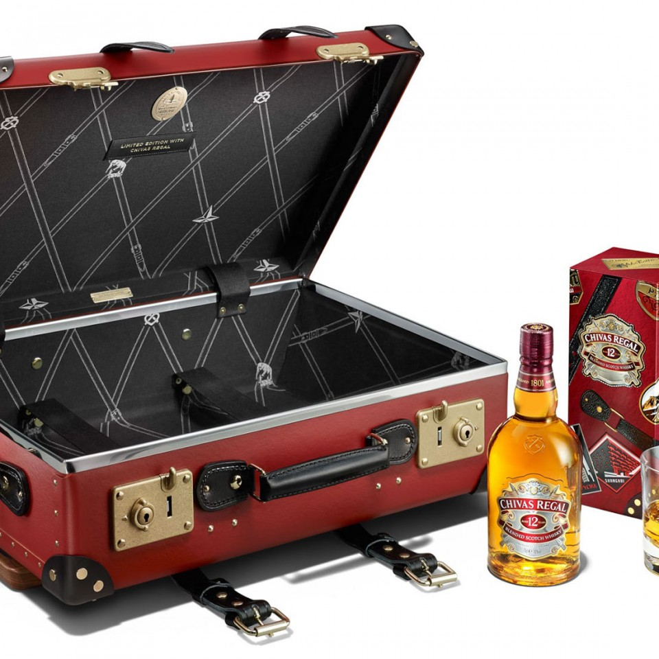 Chivas 12 Made for Gentlemen by Globe-Trotter