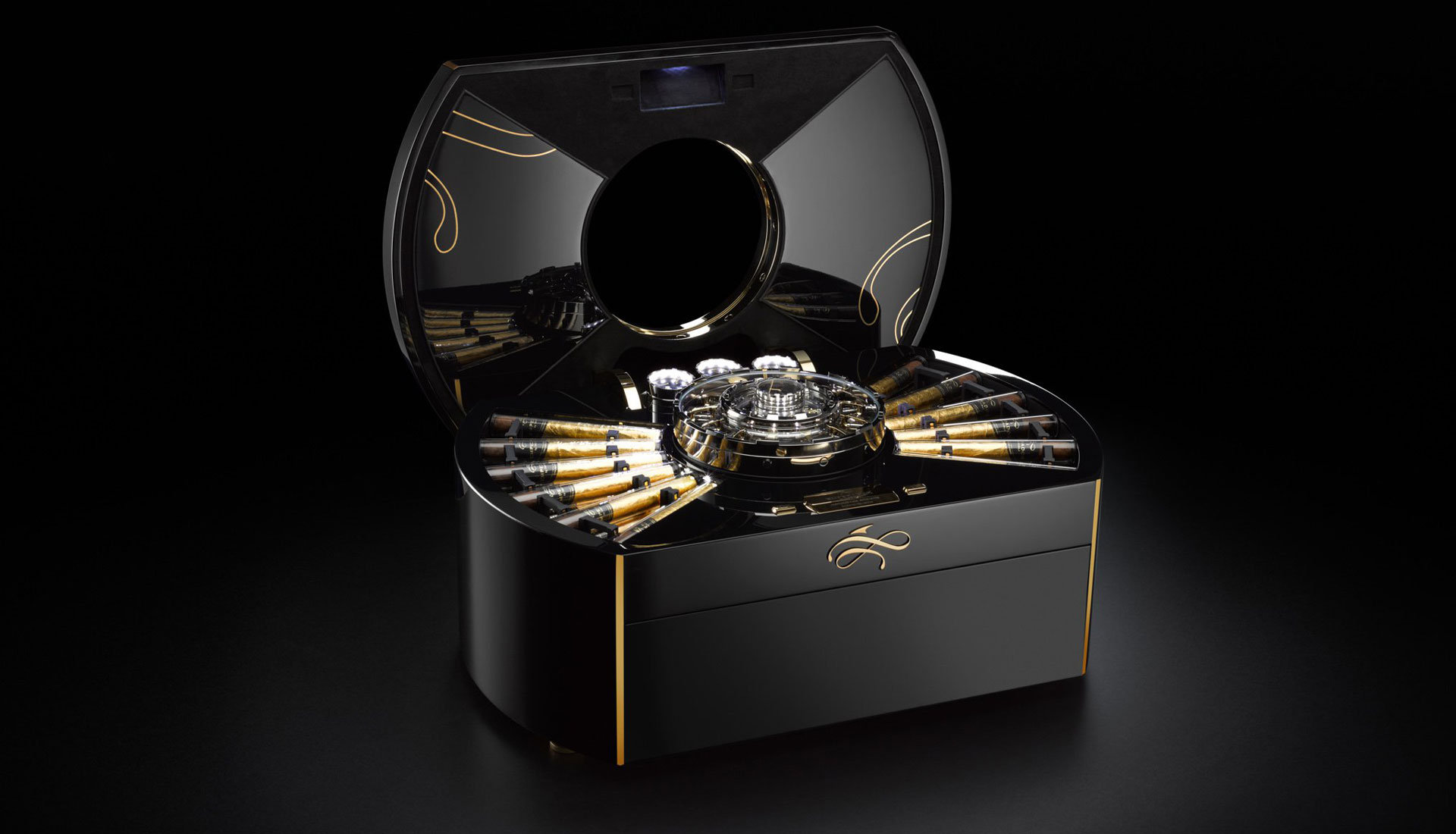 Imperiali - the Emperador cigar chest.