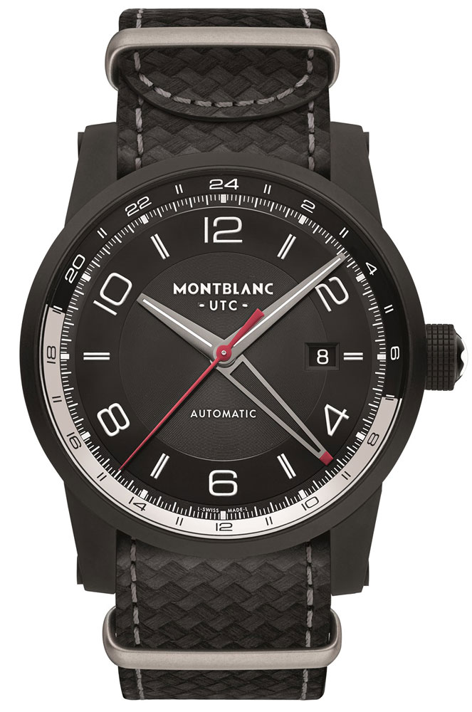 Montblanc TimeWalker Urban Speed UTC e-Strap watch
