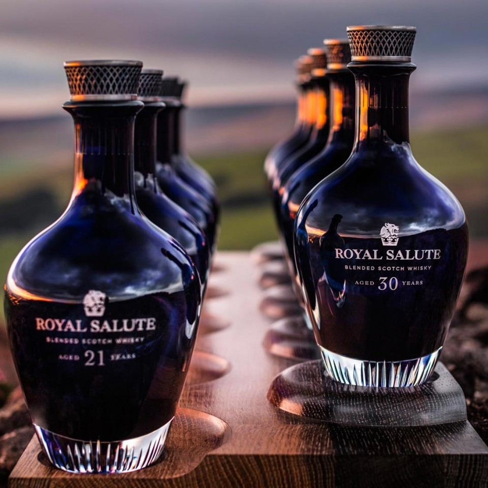 Royal Salute The Age Collection