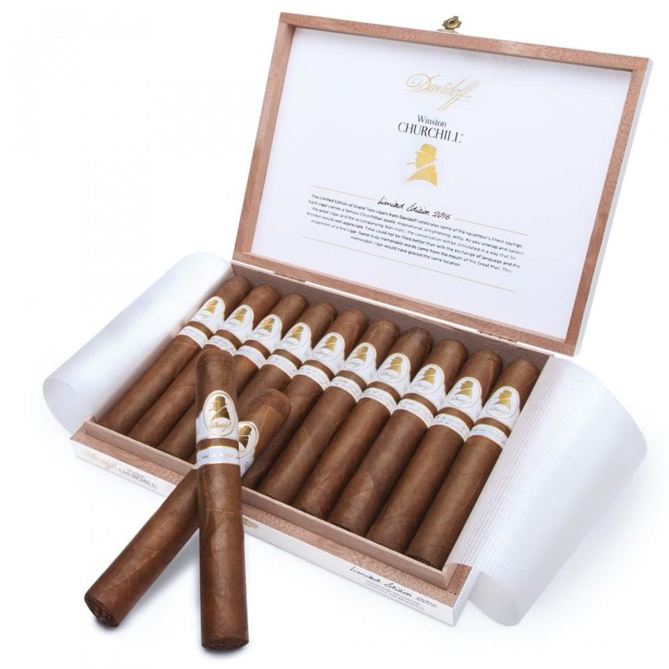 Davidoff Winston Churchill cigar Limited Edition 'The Raconteur' 2016