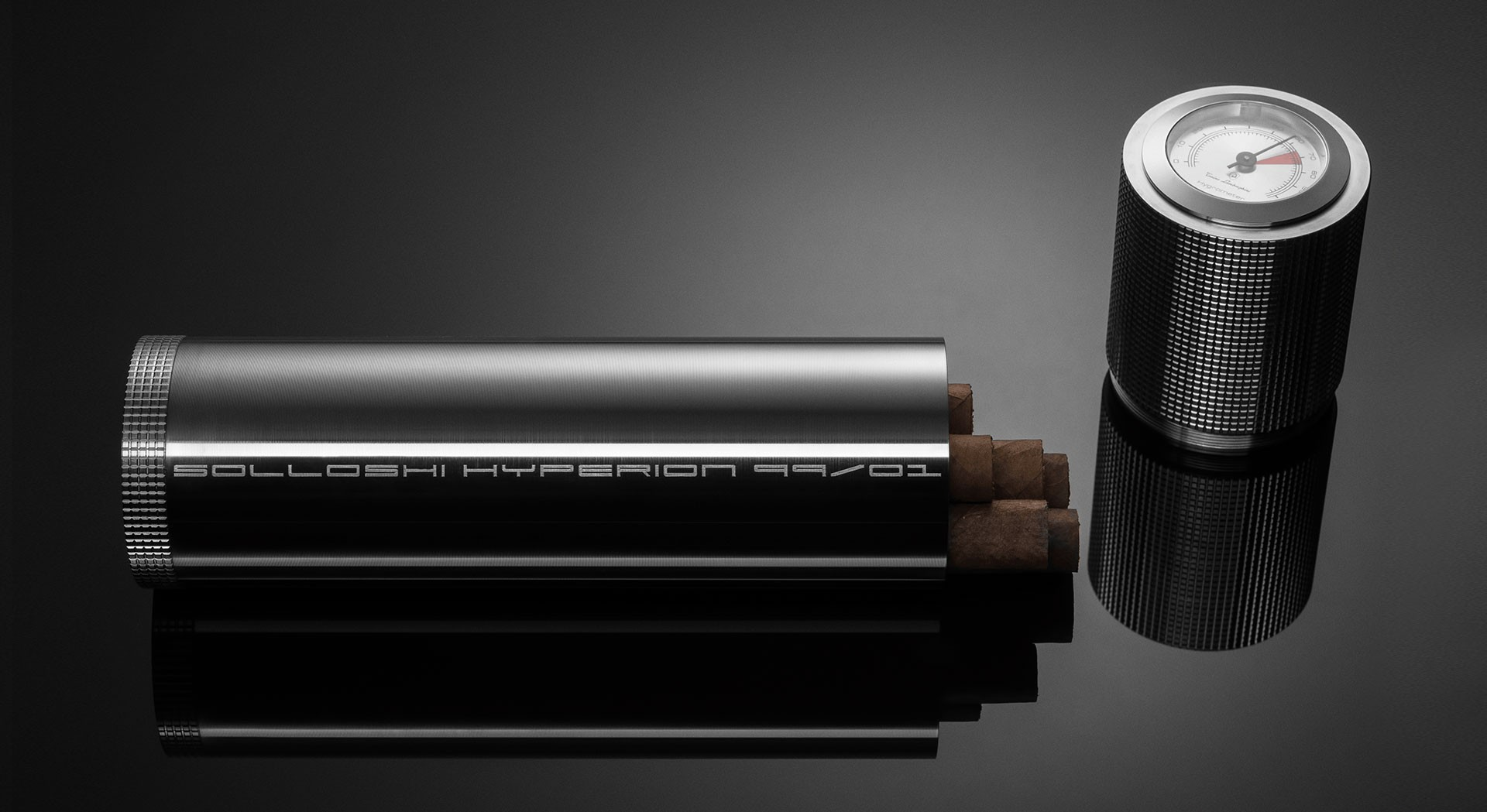 Solloshi Releases Limited Edition Line of Titanium Cigar Accessories