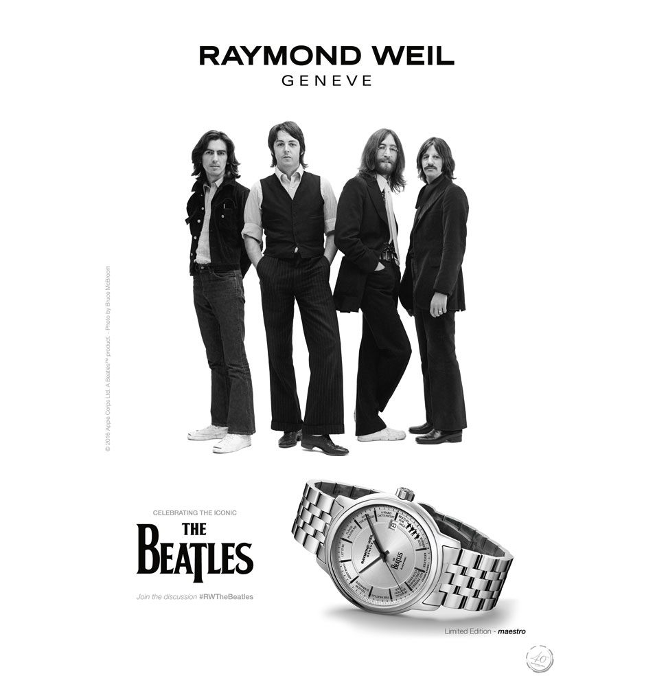Raymond Weil Maestro Beatles Limited Edition